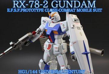 HG 1/144 ガンダム GUNDAM revive版 カラー変更