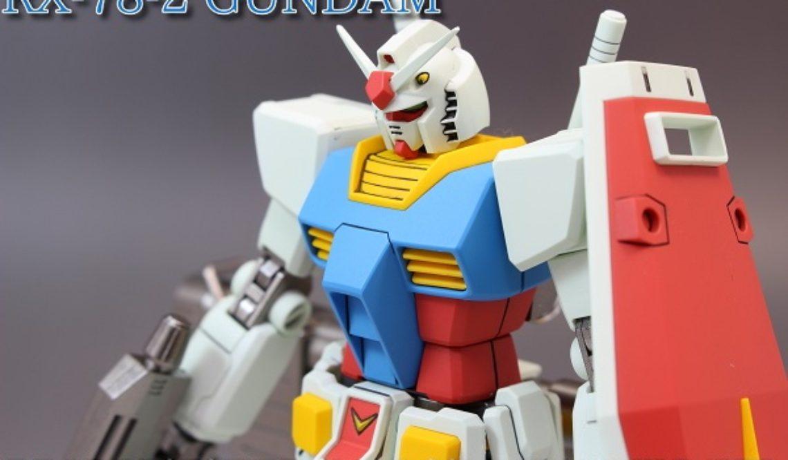 HGUC RX-78-2 GUNDAM REVIVE版 ガンダム アニメ風(デカール無し)改修全塗装完成品