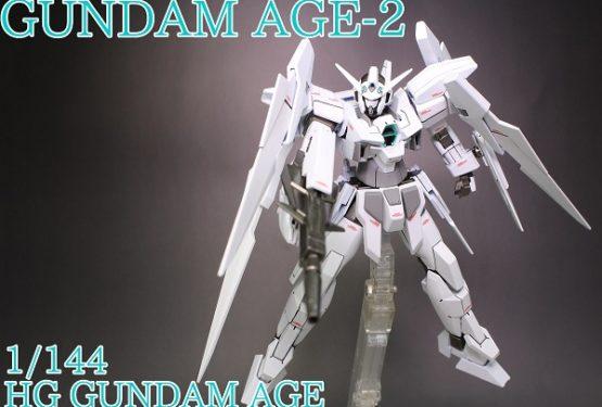 HG GUNDAM AGE-2 カラーチェンジ(特務隊仕様)