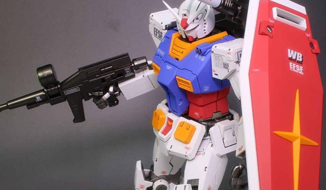 MG 1/100 RX-78-02 ガンダム(GUNDAM THE ORIGIN版) オリジン版